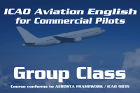 ICAO Aviation English for Commercial Pilots (Group Class) HKG