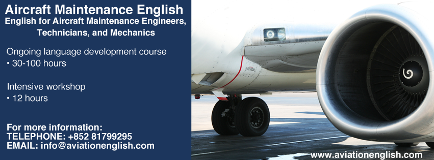 EFAMETAM-FB-Banner English for Aircraft Maintenance Engineers - AviationEnglish.com