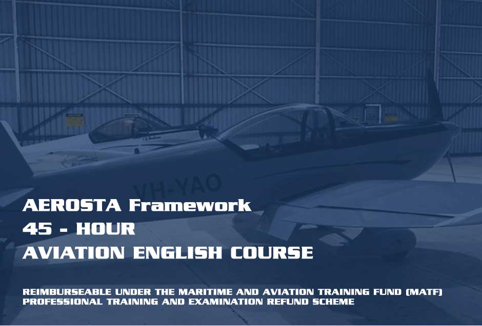 45-HOUR-COURSEc ICAO Aviation English for Cadet Entry Pilots | AviationEnglish.com