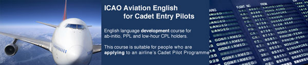 ICAO Aviation English for Cadet Entry Pilots