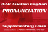 ICAO Aviation English Pronunciation Supplementary Class (Saturday) HKG